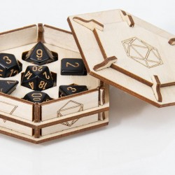 Hex Dice Box