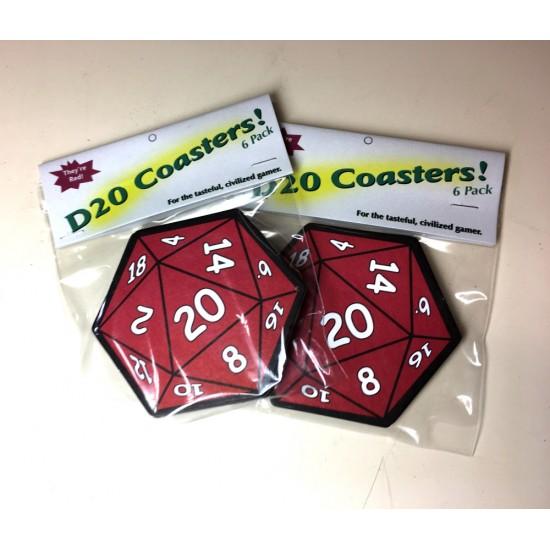 D20 Coaster set