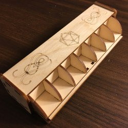 Dice Curio Box