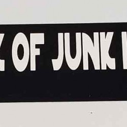 Fastest Hunk of Junk Bumper Sticker