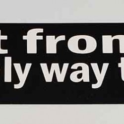 Nuke It From Orbit Bumper Sticker