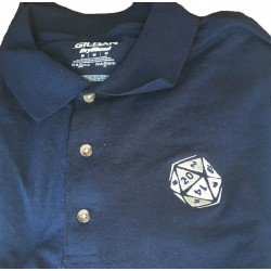 D20 Embroidered Polo Shirt