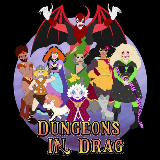 Dungeons in Drag Shirt