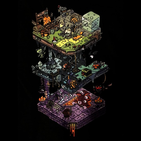 Dungeon Levels Shirt